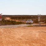 Trans-Australian railway crossing